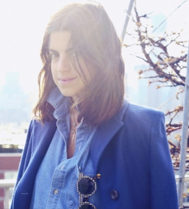 """Leandra Medine: writes my favorite fashion blog Man Repeller. Recommended Bumble & Bumble Semisumo for those of us with """"big"""" hair"""