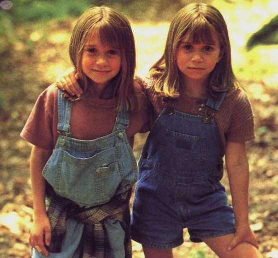 Ultimate lost-and-found twin sisters Alyssa and Amanda Callaway (aka MK & A Olsen) from It Takes Two