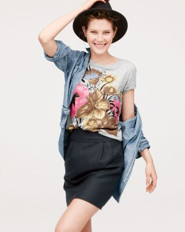 From J. Crew's September lookbook