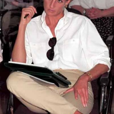 Princess Di completely understood casual cool style