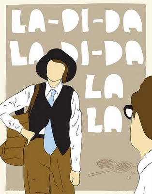 Diane Keaton exploring dapper femininity as Annie Hall