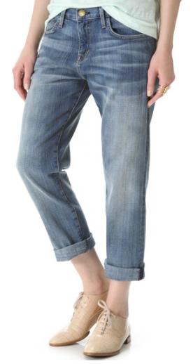 """Current/Elliot """"The Boyfriend Jeans"""" via Shopbop.com"""