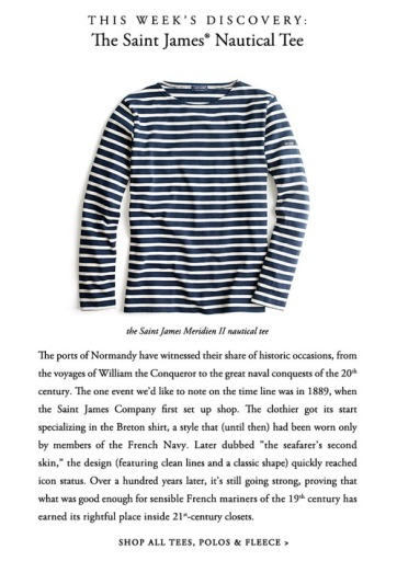 St. James long sleeved striped tee: quite possibly the most versatile, easy-to-wear shirt I've ever bought