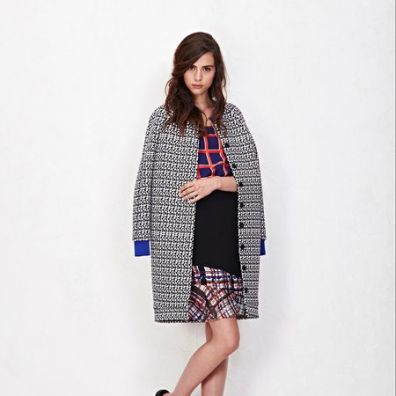 One of my favorite new designers, Misha Nonoo. Can't wait to see her collection at NYFW next week.