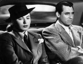 Ingrid Bergman & Cary Grant in 'Notorious'