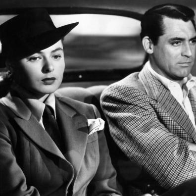 Ingrid Bergman & Cary Grant in 'Notorious'