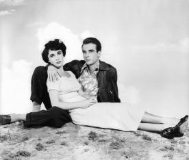 Elizabeth Taylor & Montgomery Clift in 'A Place In The Sun'