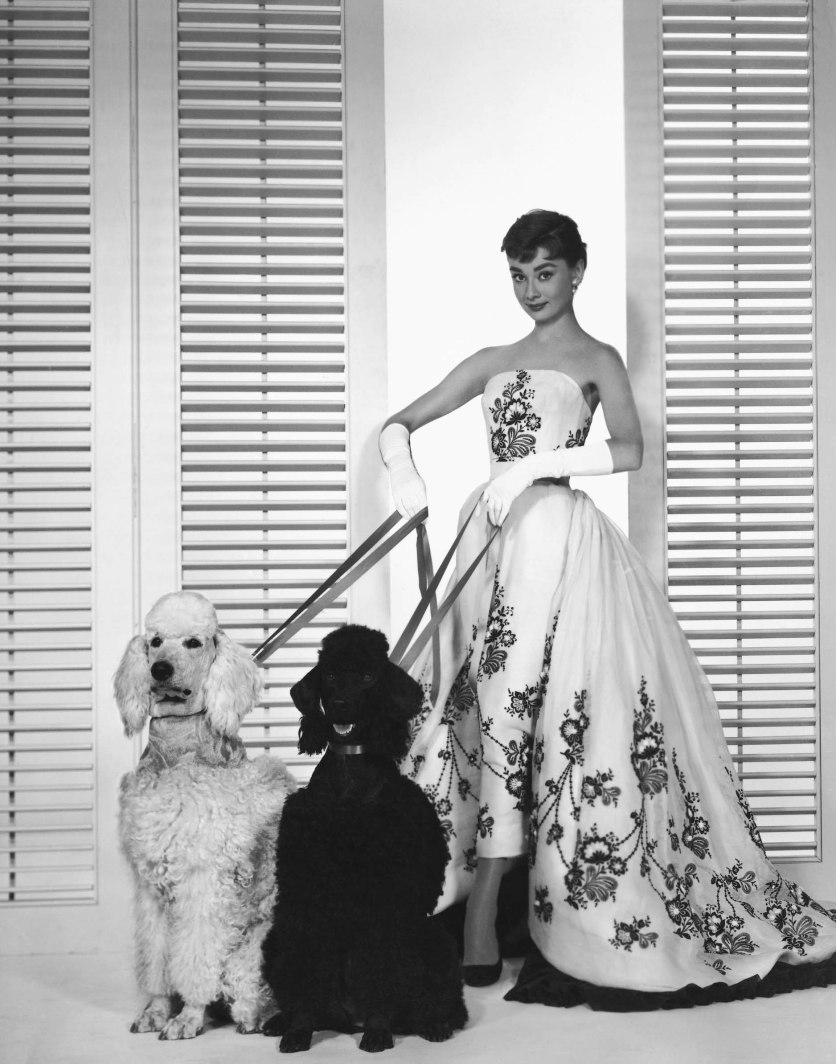 Audrey Hepburn's princess moment as 'Sabrina' in Givenchy couture