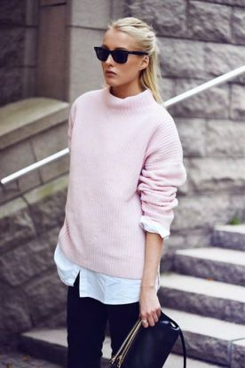 This cozy sweater screams sophistication