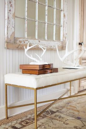 Decorating with antlers: not just for hunting lodges