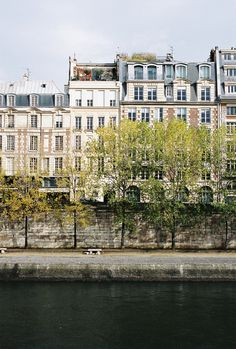 On the banks of the Seine