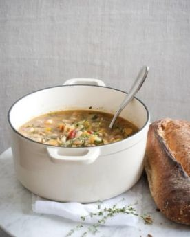 Butternut squash & white bean stew: kind of the perfect cold-weather dinner