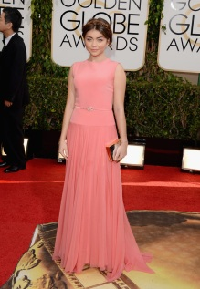 Sarah Hyland in Georges Hobieka Couture