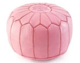 Pink pouf | $225