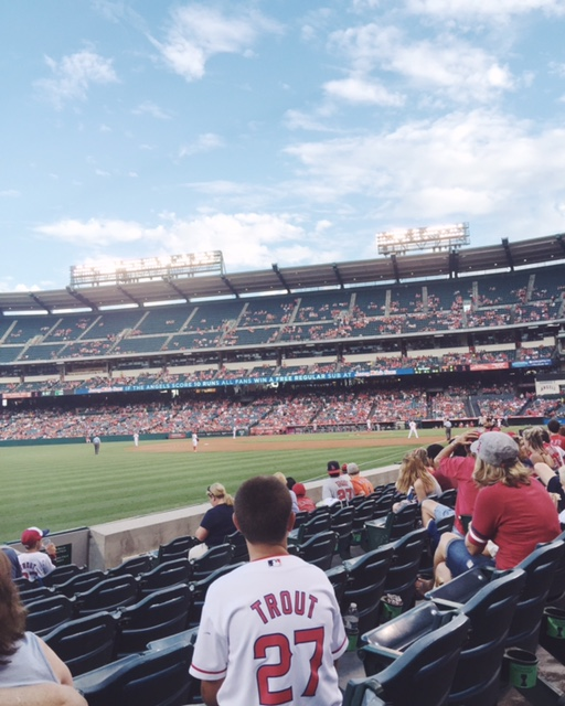 Spontaneous Angels game!